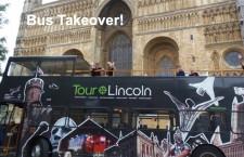 YJA take over Lincoln Tour Bus!