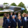 Pupils visit RAF Base
