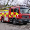 Lincoln strongman pulls a fire engine for charity