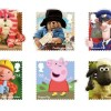 Children's characters to appear on stamps