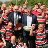 John Inverdale opens New Rugby Ground