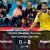 Analysing Netherlands-Argentina shootout