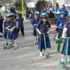 Children favouring Scooters to get to School