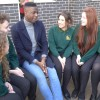 The Voice winner Jermain Jackman visits YJA School