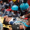 Boy Saved from the Rubble of Nepal