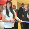 Beth Tweddle visits NK School