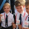Photo gallery: Young Journalists in action at Bomber Command Ceremony