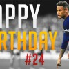 Neymar gets a birthday 'treat'