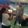 Jessica Ennis-Hill inspires children of Oasis Academy on EIS visit