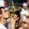 Andy Murray defeats Milos Raonic for the Wimbledon title