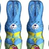 Batteries found inside chocolate bunny