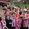 FA Cup  – Amazing scenes as ITV film at YJA school