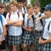 Boys Wear Skirts in Heatwave Protest