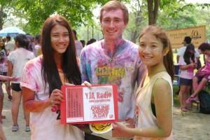 Charity 5K run for Operation Smile, in Chatuchak Park Bangkok