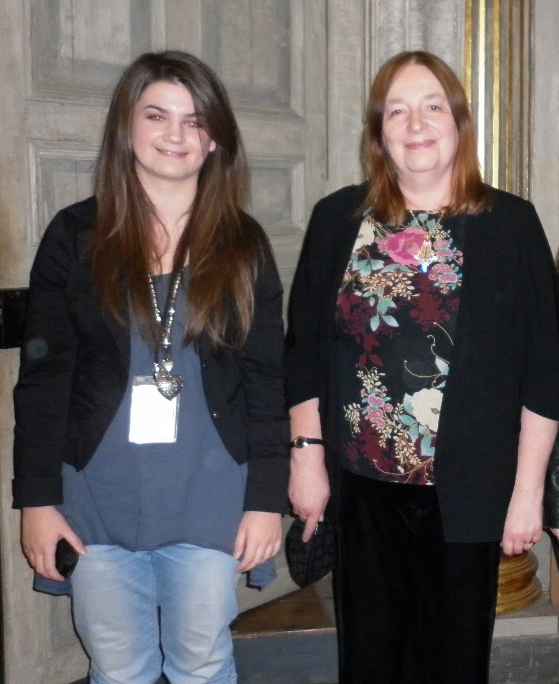 Ellen With Top Selling Author And Historian Alison Weir