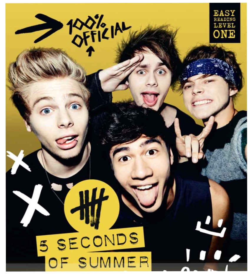 The new upcoming band 5 seconds of summer also known as 5sos released their new book hey let s make a band just weeks ago