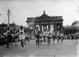 The 1936 games saw the torch relay debut