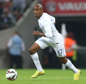 Delph made his England debut in 2014 against Norway