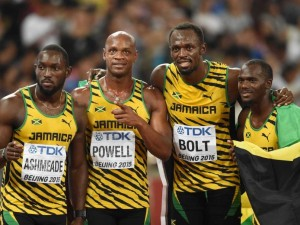 Bolt's Jamaica came out overall victors