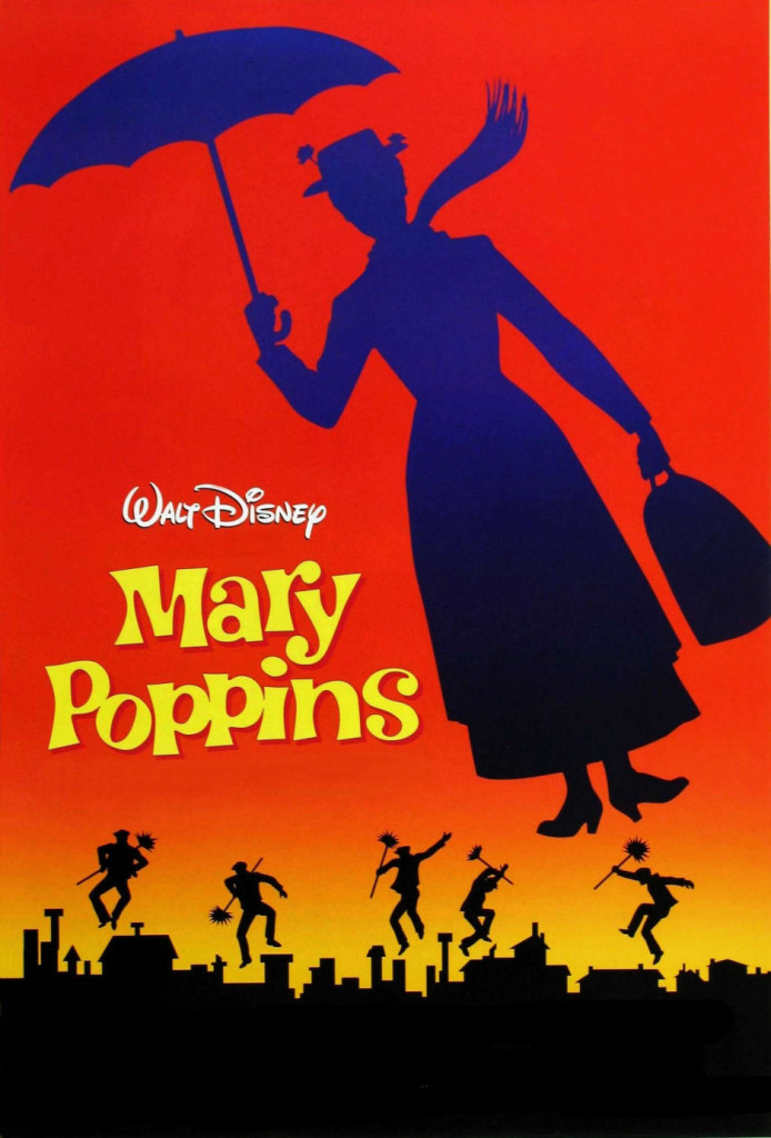 Mary Poppins DVD Amazoncouk Julie Andrews Dick van