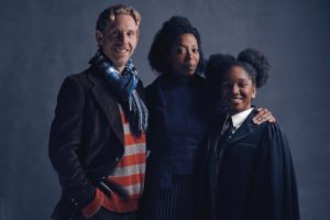 The Granger-Weasley family in the play featuring Noma